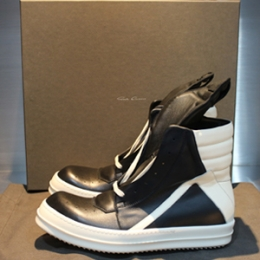 [Rick Owens]Geobasket High-top Leather RU15F7894 LPO