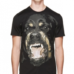 [Givenchy]Rottweiler T-Shirt Cuban Fit