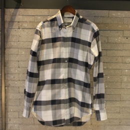 [Thom Browne]Green Check Shirt