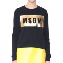 [MSGM] 15fw Logo cotton Sweatshirt 1941MDM59 154798 99