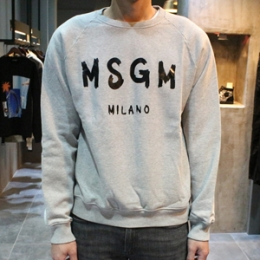 [MSGM] 15fw Milano Wildlogo Sweatshirt 1940mm104 154797 96