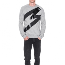 [MSGM] 15fw M Taping Logo Sweatshirt 1940mm73 154797 96