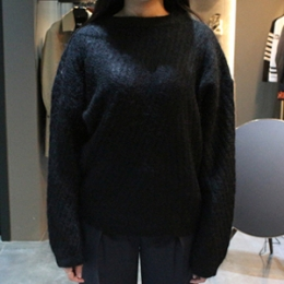 [ACNE] 15fw WOOL BRAND SWEATER 19E153 900