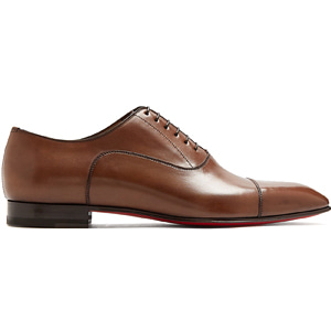 해외배송 [Christian Louboutin] 18ss Greggo leather oxford shoes