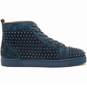해외배송 [Christian Louboutin] 17fw Louis high-top spike sneakers
