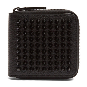 해외배송 [Christian Louboutin] 17fw Panettone spike square leather wallet