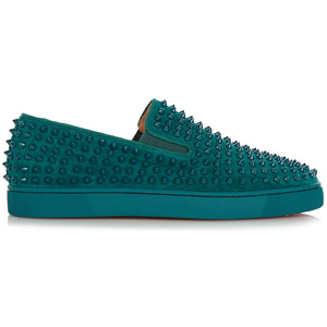 해외배송 [Christian Louboutin] 17fw Roller Boat spike slip-on sneakers