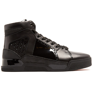 해외배송 [Christian Louboutin] 18ss Loubikick spike high-top leather sneakers