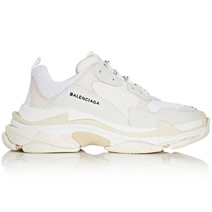 [Balenciaga] 17fw Triple S Sneakers White