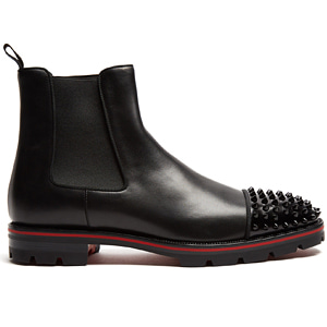 해외배송 [Christian Louboutin] 17fw Melon leather chelsea boots