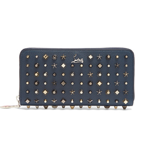 해외배송 [Christian Louboutin] 17fw Panettone stud leather wallet