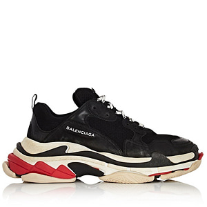 [Balenciaga] 18SS Triple S Sneakers Black/Red
